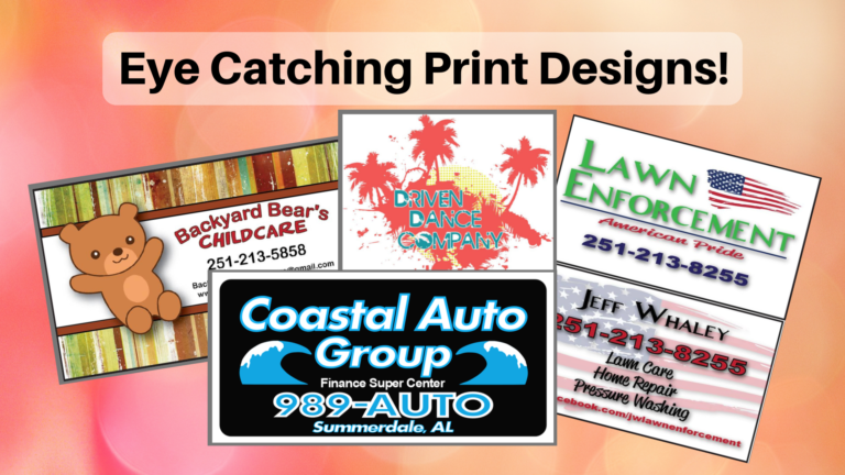 Eye Catching Print Designs!